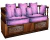 Cherry Wood Cozy Sofa