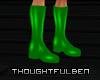 !TB! PVC Green Boots