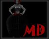 Black Cage Skirt