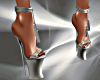 T- Sexy Shoes silver