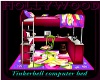 tinkerbell computer bed