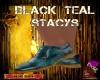 DM:BLACK TEAL STACYS