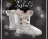 *In* White Fur Boots