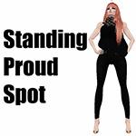 Mesh Standing Proud