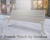 """SAV"" STREET SNOWY BENCH"