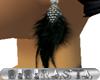 BBR Earring BlackFeather