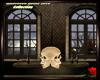 Halloween Skull Table