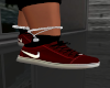 SF: DXT RED NIKES