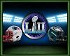 Super Bowl backdrop