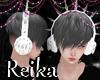 R Deadly Headphone White