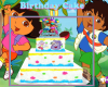Dora & Diego cake