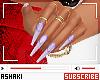 Ⴕ Nails W. Rings