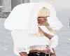 White Winter Fur Coat