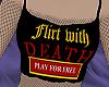 flirt w. death croptop