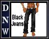 Wolf Black Jeans