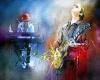 Blues Legend #5 Canvas