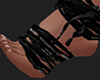 Gothic Doll Straps Feet