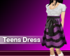 (M) Teens Dress Pink