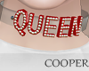 !A choker red Queen