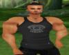Versace Muscle Tank Blk