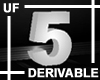 UF Derivable Digit 5