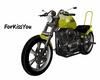 Yellow  MotorCycle +Pose