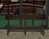 Dark  Rustic  Bench