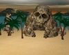 Island pirate skull x \