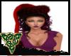 Goth santa hat