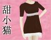 TXM T-Shirt Dress Coffee