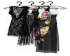 Closet dresses/hanger