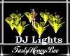 Flower DJ Lights Yellow