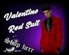 Valentino Red Suit