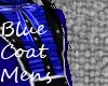 {Kuro} Blue Mens Coat