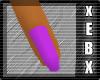 -Purple Dainty Nails-