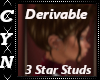 Derivable Star Studs