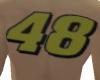 number 48 tattoo