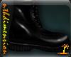 Black Military Boots V2