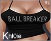 K Ball Breaker top RL M