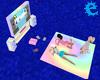 [E] Pastel Gaming Set