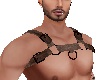 Brown Leather Harness