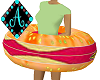 Ama{Pool Floatie orange