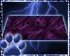 ~WK~PurpleNoPoseTowel