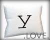 .LOVE. Letter y Pillo