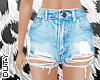 D. Denim Shorts