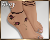Lark Rose Feet
