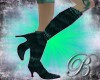 [B]teal stiletto boots