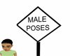 (SL)Male Poses Sign
