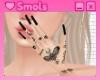 迫力 black nails