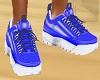 BLUE TENNIS SHOES